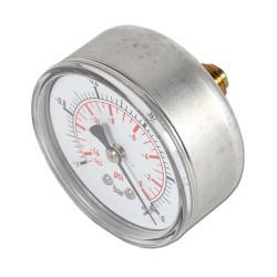 Restposten - Manometer - Ø 63 mm - Anzeige -1 bis 0 bar