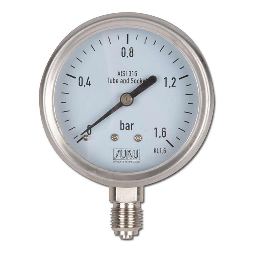 applicazioni chimiche NG63 - da -1 bar a 400 bar