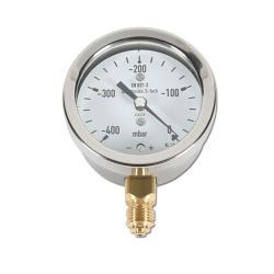 Restposten - Kapselfedermanometer - Ø 63 mm - Standard Vakuum