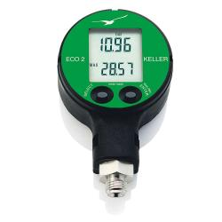 Digital pressure gauge - accuracy 0,5 %