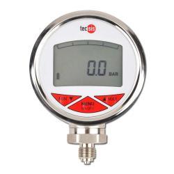 manometro digitale - campo di misura fino a 700 bar - scarico di fondo