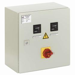 Grundlastwechselschaltung GLW-SGSD 17  - für 2 Kolbenkompressoren 3 / 4 kW mit Druckschalterbetrieb