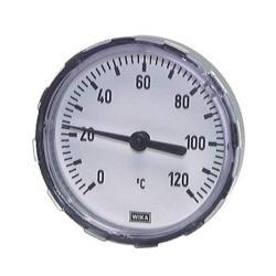 """Bimetallthermometer - waagerecht - Ø 100 - 0 - 60°C - Länge 60 mm - Anschluss G 1/2"""""""