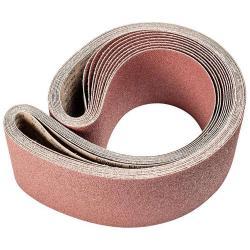 Restposten - Schleifband - PFERD - Korund A - Korngröße 36 - Bezeichnung BA 150/2000 X A 36 - Maße 150 x 2000 mm - ISO 2976 - Preis per Stück