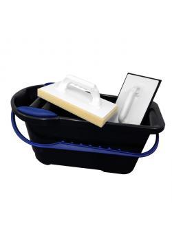 lavage Tile set - lavage Seau 22 L - Hydro et de caoutchouc washboard en mousse