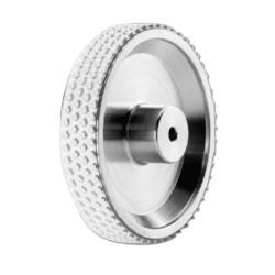 Messrad MR261.04A - Belag NBR Nitril - Noppengummi - Umfang 200 mm - Aufnahmebohrung Ø 4 mm