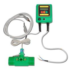 "Flow Meter - Electronic - ""BINDA PONY FLOW CABLE"" - 20 Bar"
