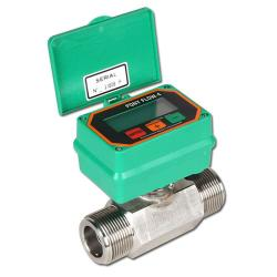 "Remaining stock - Electric flow meter - Model PF N 5 - Flow rate 35/350 l / min - Hose Ø 1 ""1/2"