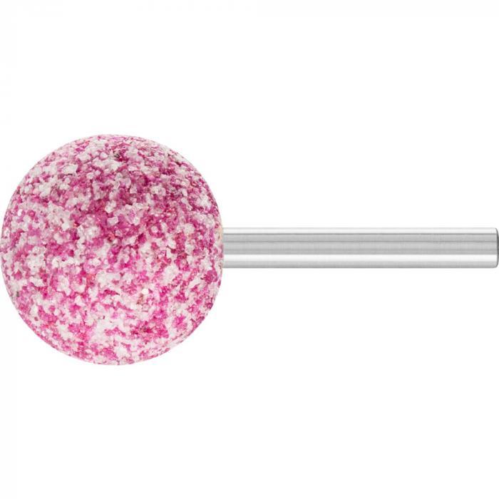 PFERD Schleifstift - Kugelform KU - STEEL - Korngröße 13 bis 32 - Außen-ø 32 bis 40 mm - Schaft-ø 6 mm - Preis per VE