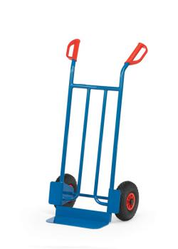 Tubular steel trolley - Capacity 250 kg - blue RAL 5007