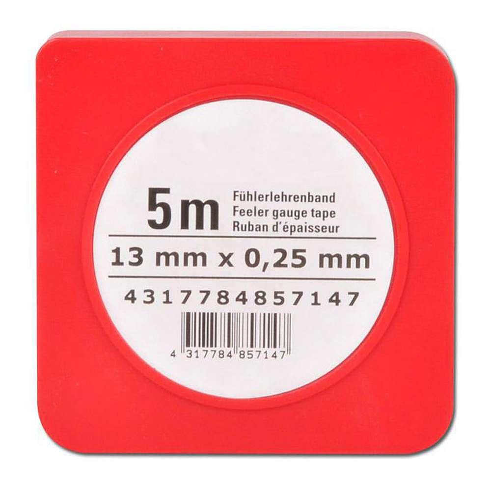 Fühlerlehrenband - Stahl - Stärke 0,01 bis 1mm
