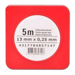 Nastro per spessimetri - acciaio - spessore 0,01 fino 1 mm