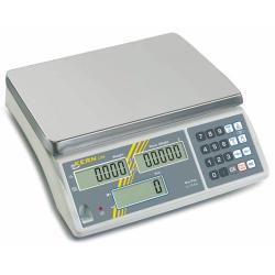 Waage - max. Wägebereich 3 kg - Zählauflösung 30.000 Pkt. - mit Eichung (separat zu bestellen)