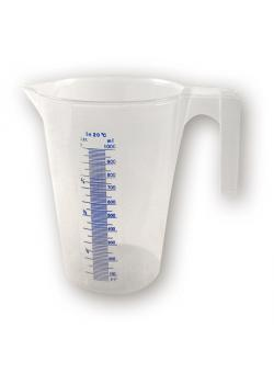 Plastic measuring cup 1 liter - with scaling