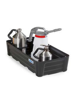Kleingebindewanne SC-P 40 - Polyethylen (PE) - 40 Liter Auffangvolumen