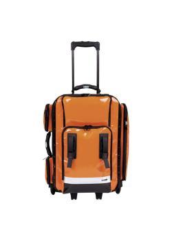 Notfallrucksack NumberOne Back'n'Roll - leer - mit Rollen - incl. 3 großen und 2 kleinen Modultaschen