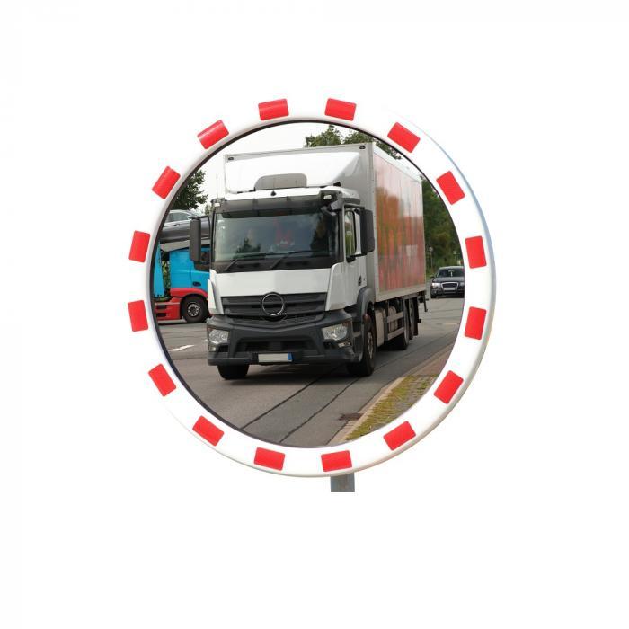TM Verkehrsspiegel - INOX - rund