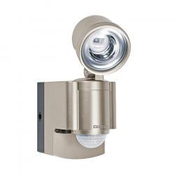 LED Strahler - mit Bewegungsmelder 140° und Alarmfunktion - Batteriebetrieb