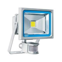 LED Strahler - CLASSICO - 20 Watt - mit PIR Sensor - für großflächige Ausleuchtung