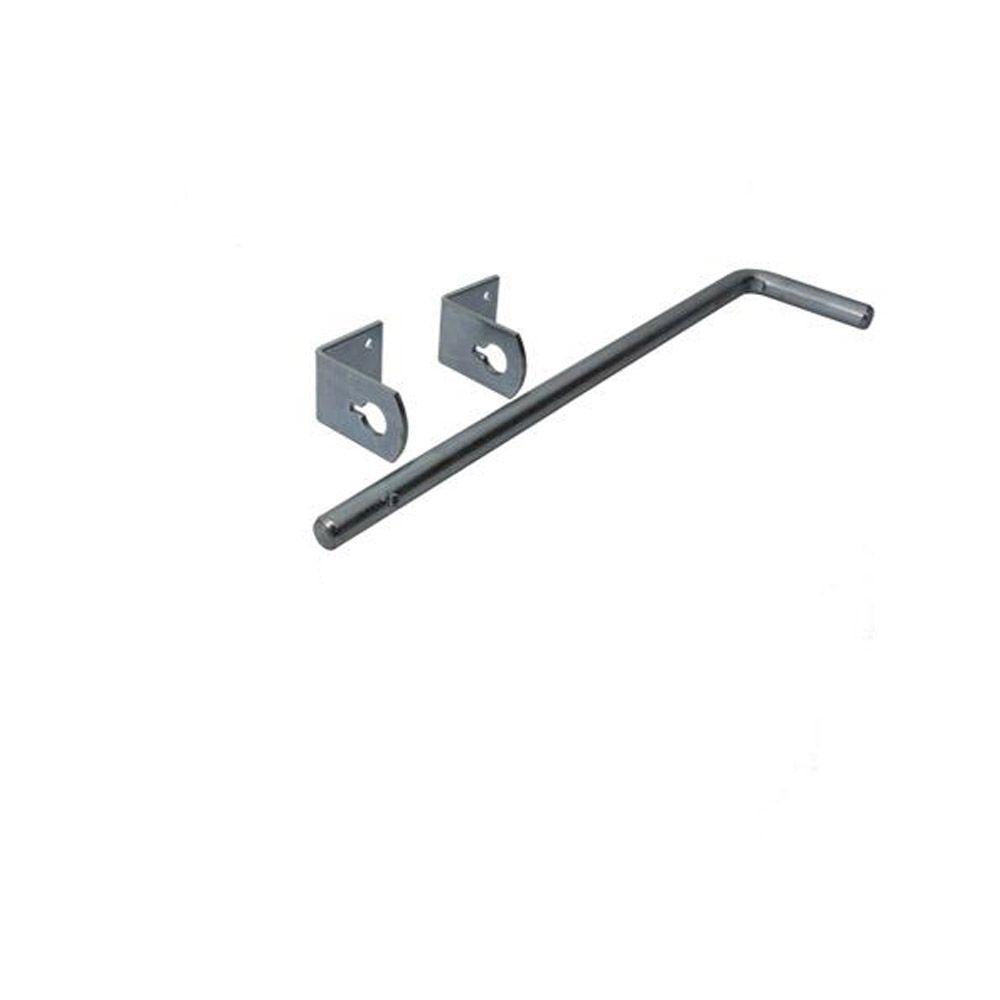 Bodenschieber - Ø 16 mm - mit 2 Führungswinkeln - Preis per Stück