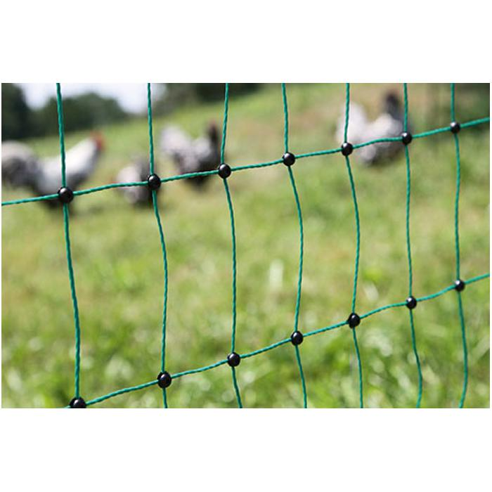 Poultry net - PoultryNet - height 112 cm - length 25 to 50 m - green