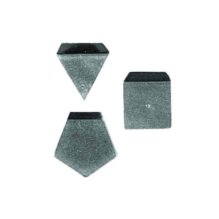 Test Vægt M 1 - 1 mg til 500 mg - blodplade form - aluminium, nysølv