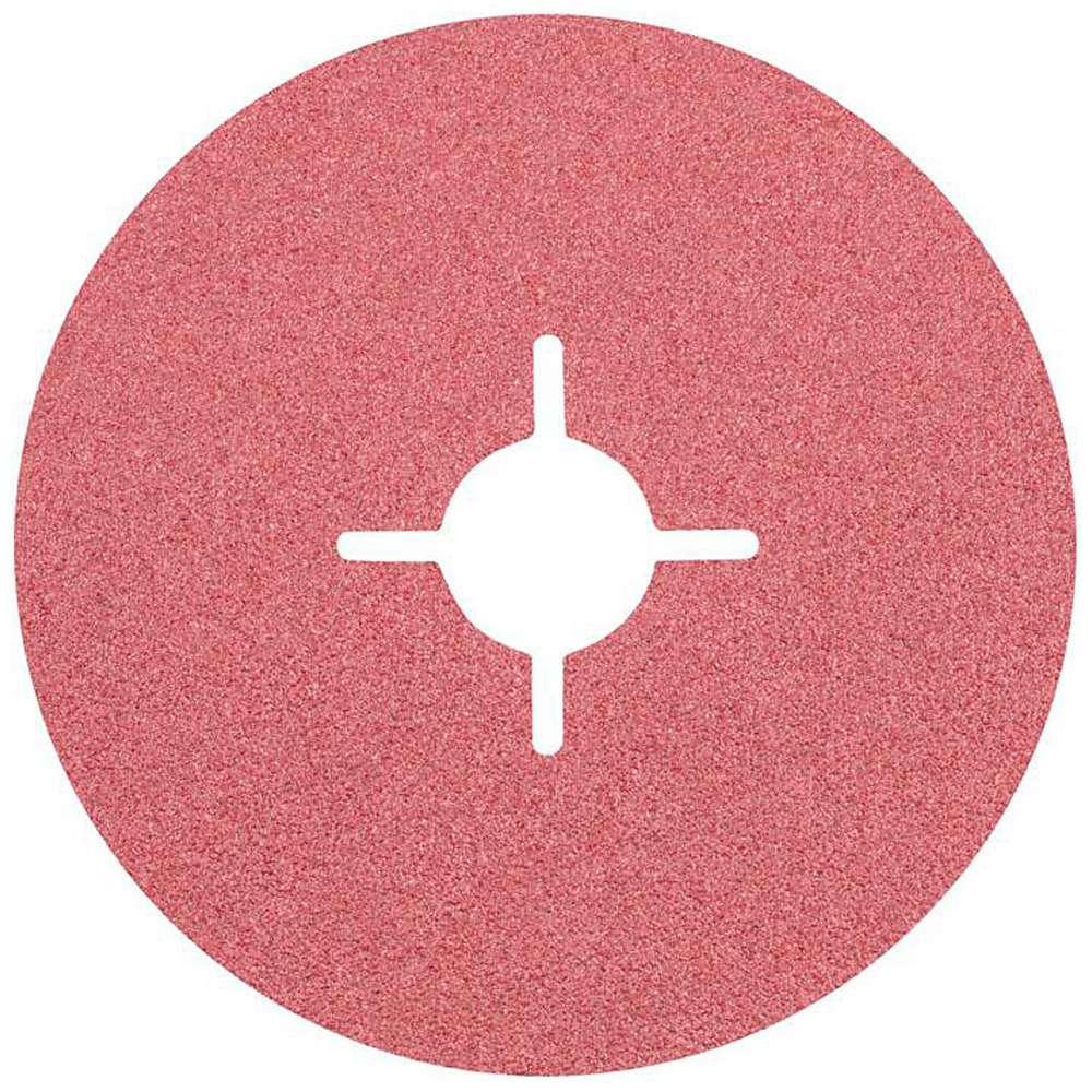 Fiberscheibe - PFERD - Keramikkorn - D x H 115 /180 bis 22 mm - Korngröße 24 bis 120 - VE 25 Stück - Preis per VE