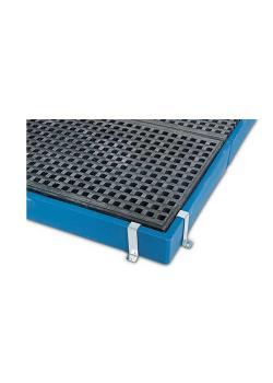 Fissaggio bordo - per elementi a pavimento BK in polietilene (PE)
