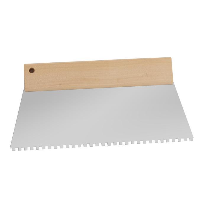 Kleberverteilspachtel - versch. Zahngrößen - Trapezform - Breite 180mm