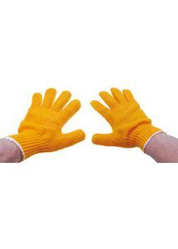 Stickade handskar - halkfri - storlek 10