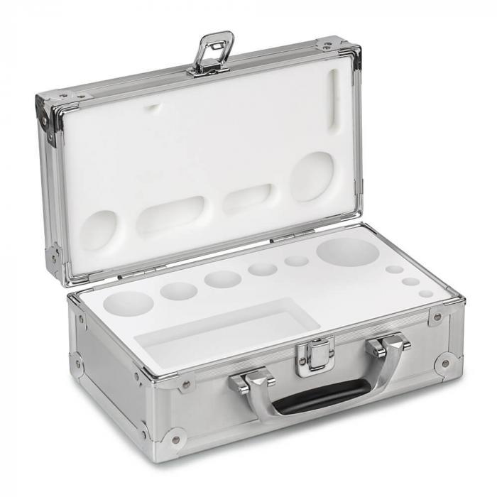 Aluminiumskasse - standardvægtsæt - klasse E 1 til M 2
