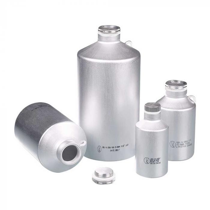 Transportflasche Alu - UN-zugelassen - mit Schraubverschluss - verschiedene Ausführungen