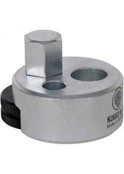 Stehbolzen-Ausdreher - mit großem Spannbereich - Ø 5 bis 19 mm - KUKKO