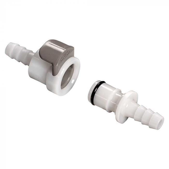 CPC Kupplung - NW 6,4 mm - POM - komplett - ohne Ventil - Schlauchtülle - verschiedene Ausführungen