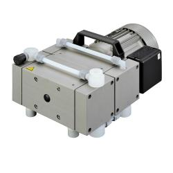Membranpumpe - MPC 601 T - 230 V, 115 V - chemieresistent - dreistufig