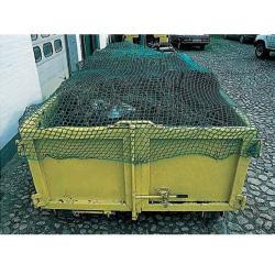 Gummiseil 15 m für Containernetz - mit Drahthaken 8 mm - für Netz 4,0 x 3,0 m