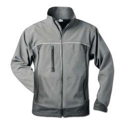 """Softshell Jacket """"BETA"""" - grå-svart - storlek S-XXXL / 46-68 - ELYSEE"""