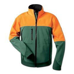 "Skogssoftshelljacka ""Havtorn"", grön-orange, storlek S-XXL, elysee®"