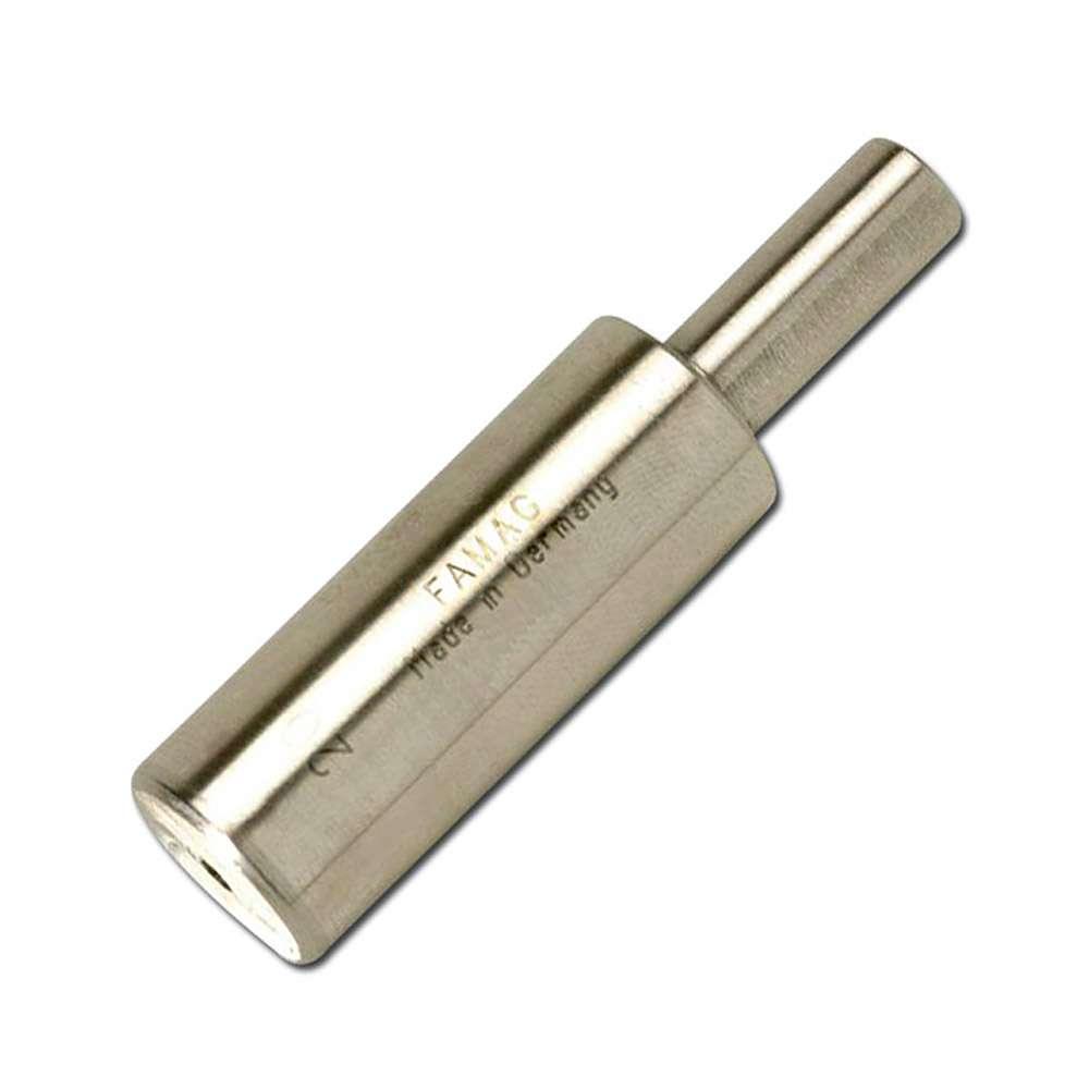Führungszapfen, FAMAG, Ø: 12-18 mm, Schaft 10 mm, Gesamtlänge 75 mm