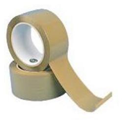 Packband - Polypropylen - mit klebefreudigem Kautschukkleber - farblos - Banddicke: 0,06 mm - Abmessung L x B: 66 m x 50 mm - VE: 5 Stk. - Preis per VE