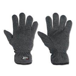 Fleece handske - mörkgrå - storlek M-XL - Thinsulate ™