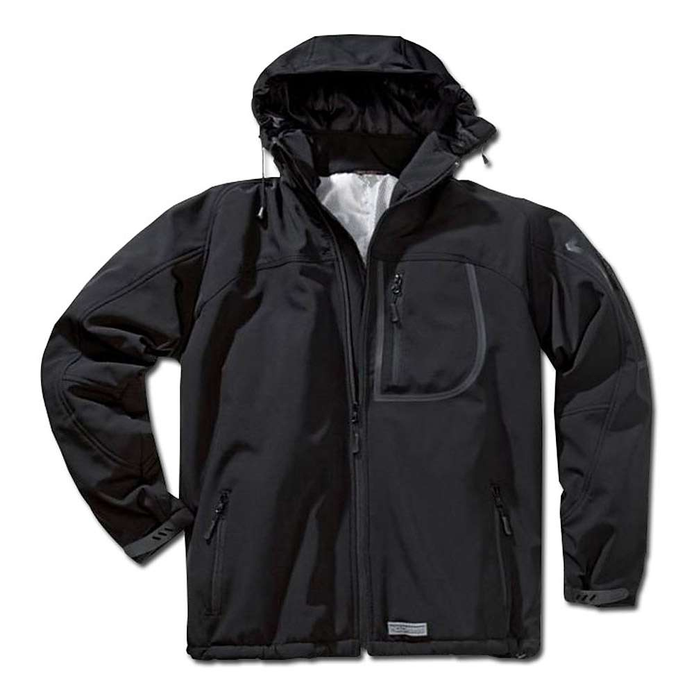 "Thermo softshell jacka ""Run"" - svart - Storlek XL / 58-60"