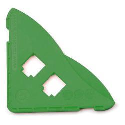 """Restposten - Schutzecke """"Amored"""" - für Glasdicken von 10 mm - Farbe grün"""