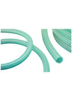 NORPLAST® PVC 379 GREEN SUPERELASTIC - kälteflexibel - Innen-Ø 20 bis 50-51 mm - 25 und 50 m - Preis per Rolle