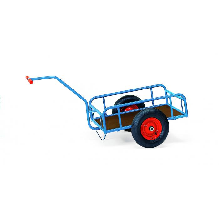 Handcart - 1-axle - with railing - 250 mm high
