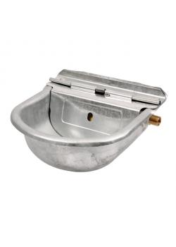 Swimmer drinking bowl S1090 - width 28 cm - depth 26 cm - height 13 cm - hot-dip galvanized