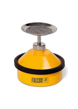 FALCON Annetzkanne - Stahl lackiert - 1¼ Zoll G-Gewinde Tränkteller - Pumpwerk - 1 Liter