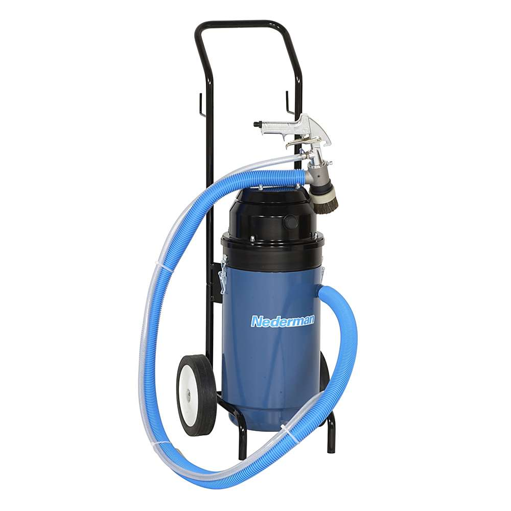 Vakuum-Sandstrahlgerät -  SB 750 - zusätzliche Luftkühlung - max. 8 bar - 960 W - 500 l/min bei 6 bar