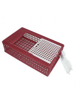 Geflügel-Transportbox - Breite 57 cm - Länge 95 cm - Höhe 24 cm
