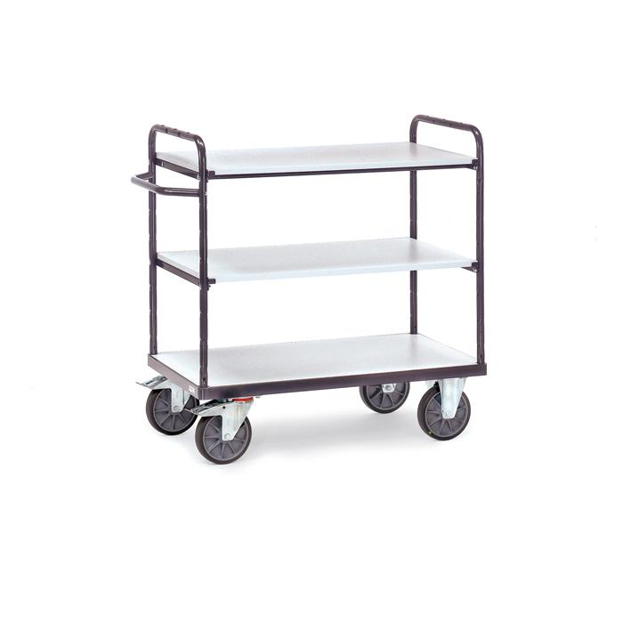 ESD Shelf trolley - with 3 floors - 500 kg